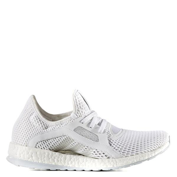 【EST S】Adidas Pure Boost X BB4969 軟底網布透氣慢跑鞋 全白 G1104