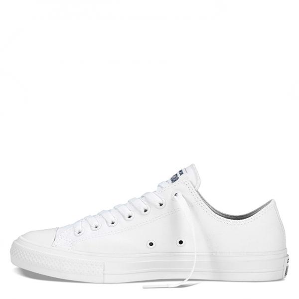 【EST S】Converse Chuck Taylor II 2代 150154C 低筒氣墊帆布鞋 全白 G1118