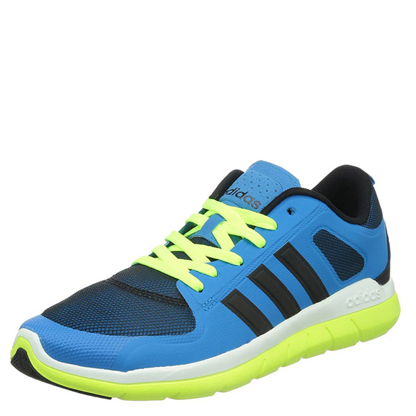 【EST S】Adidas Neo X Lite Tm F98745 慢跑鞋 湖藍黑螢黃 G1104