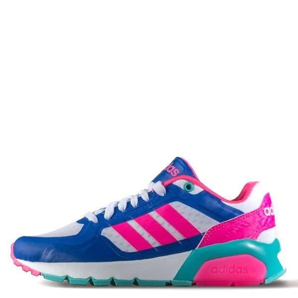 【EST S】Adidas Neo Run 9Ties F99048 慢跑鞋 藍桃紅綠 G1104