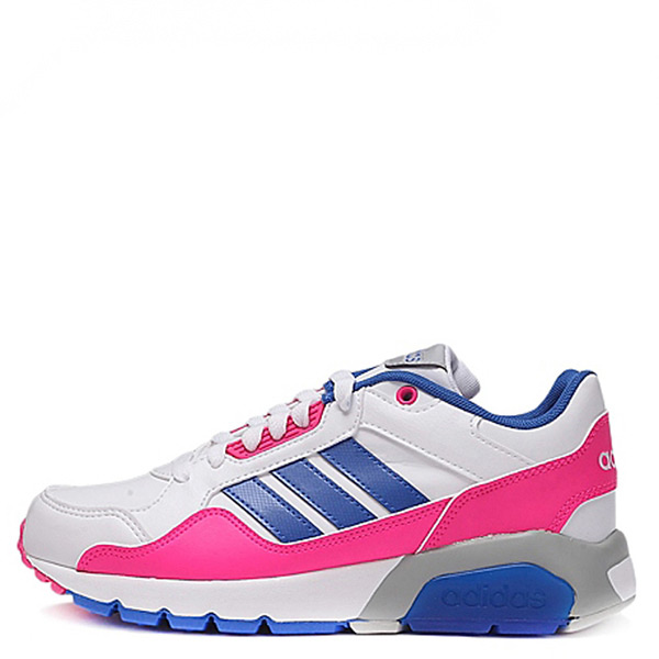【EST S】Adidas Neo Run9Tis F99293 慢跑鞋 白粉桃 G1104