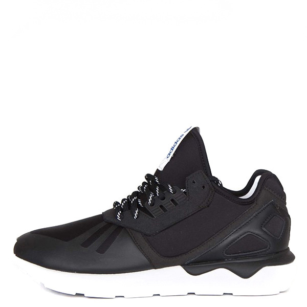 【EST S】Adidas Tubular Runner M19648 武士鞋 黑白藍標 平民版 Y3 G1104