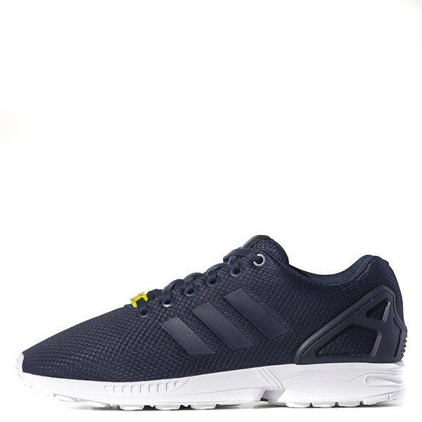 【EST S】Adidas Zx Flux M19841 運動透氣輕量慢跑鞋 深藍白 G1104