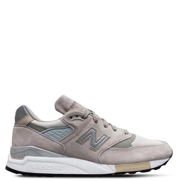 【EST S】New Balance M998 美國製 反光 麂皮 復古 慢跑鞋 男鞋 元祖灰 G1018