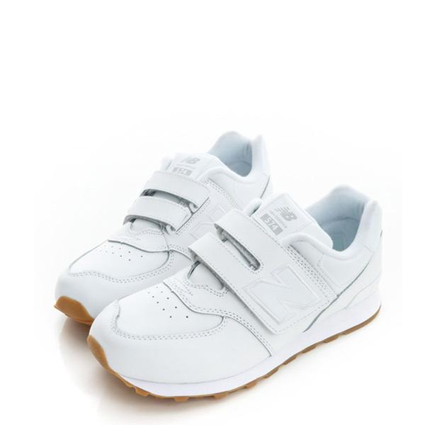 【EST S】New Balance KV574G8Y 574 皮革 魔鬼氈 慢跑鞋 童鞋 全白  G1223