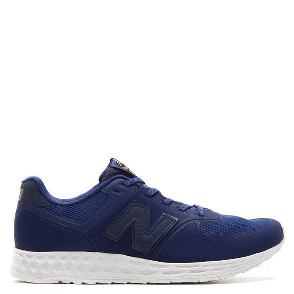【EST S】New Balance 574系列 MFL574BB D楦 復古慢跑鞋 黑藍 男鞋 G1125