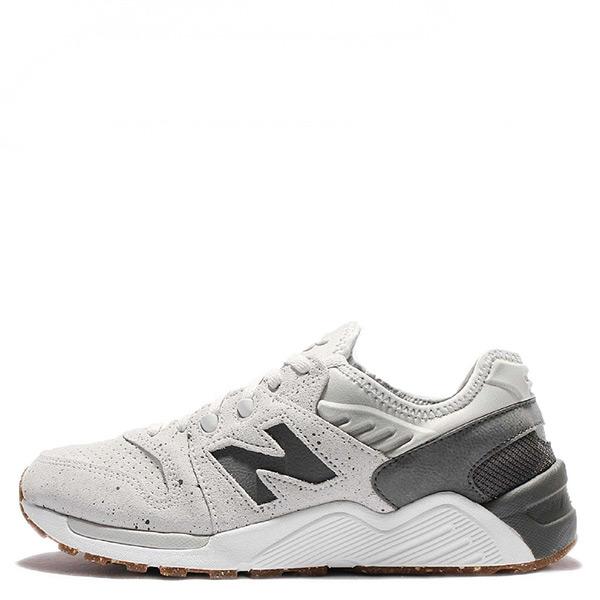 【EST S】New Balance 009系列 ML009PT D楦 復古慢跑鞋 白灰 鞋底潑墨 男鞋 G1125