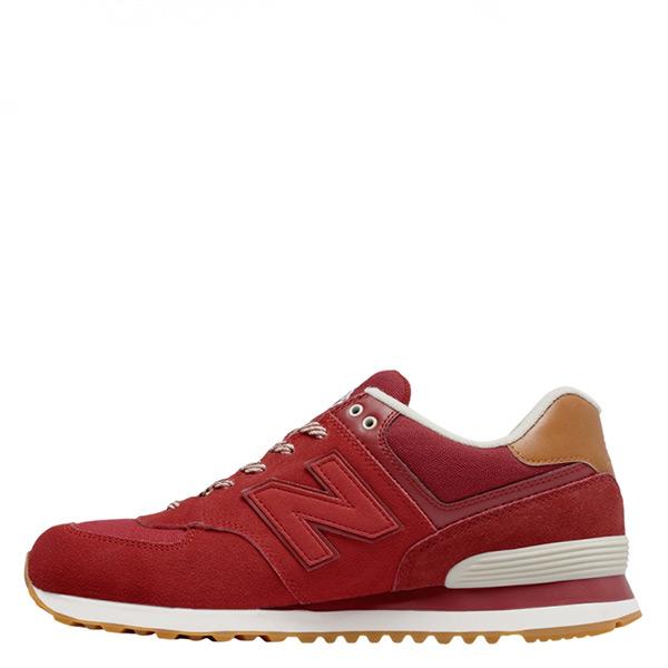 【EST S】New Balance 574系列 ML574NEC D楦 復古慢跑鞋 紅 男鞋 G1125