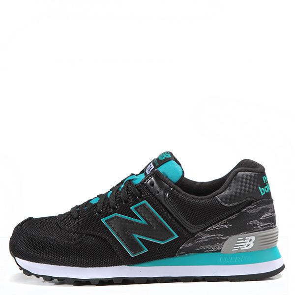 【EST S】New Balance 574系列 ML574SIB D楦 復古慢跑鞋 黑綠 男鞋 G1125