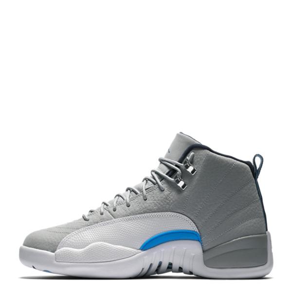 【EST S】Nike Air Jordan 12 Bg Gs Aj12 153265-007 灰狼 大童鞋 G1126