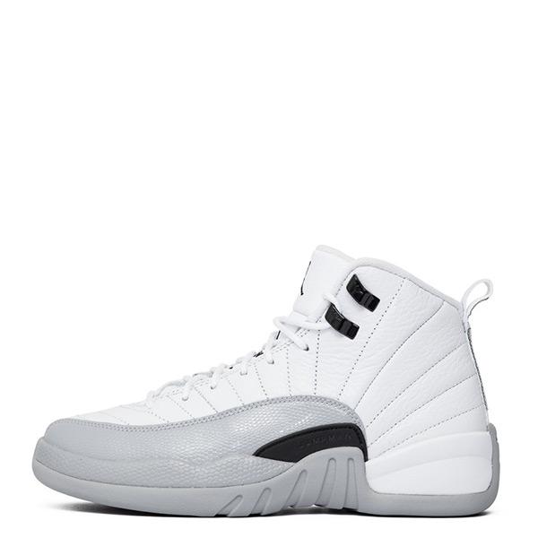 【EST S】Nike Air Jordan 12 Gg Aj12 510815-108 白灰 大童鞋 G1126