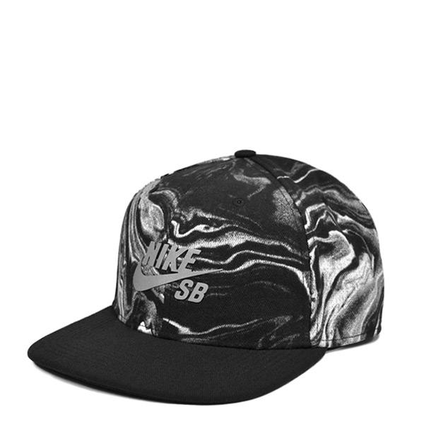 【EST S】Nike Sb Snapback 778339-100 3M反光 棒球帽 渲染 黑白 G1119