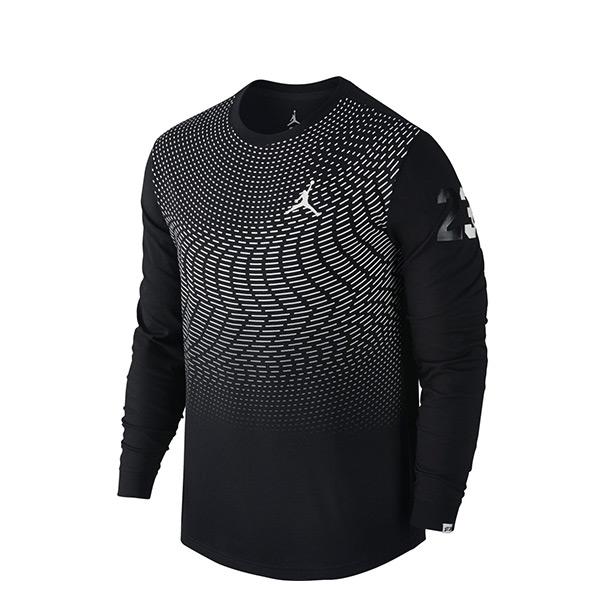 【EST S】Nike Jordan CP3 All Signs 801567-010 運動 長Tee 黑  G1223