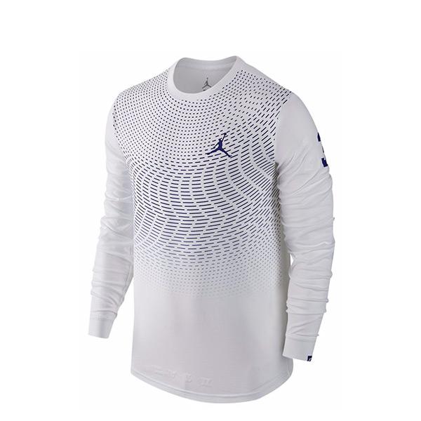 【EST S】Nike Jordan CP3 All Signs 801567-100 運動 長Tee 白 G1223