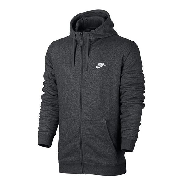【EST S】Nike Hoodie Fz Ft 804392-071 棉質 連帽 外套 灰色 G1119