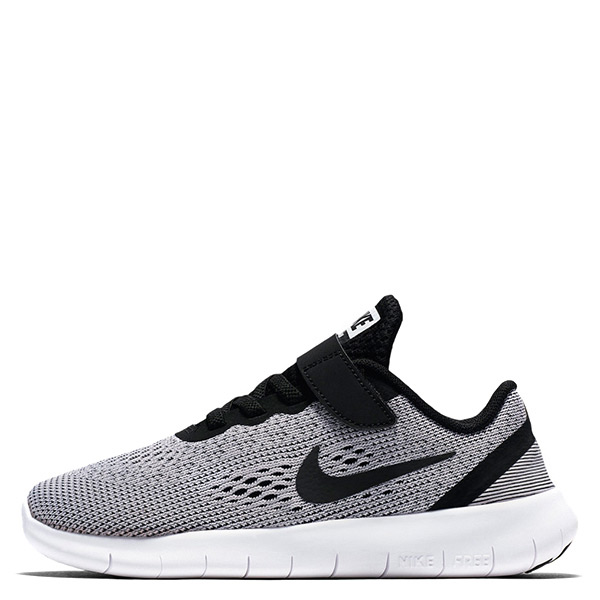 【EST S】Nike Free Rn Psv Run 833991-100 赤足運動慢跑鞋 灰黑白 中童鞋 G1116