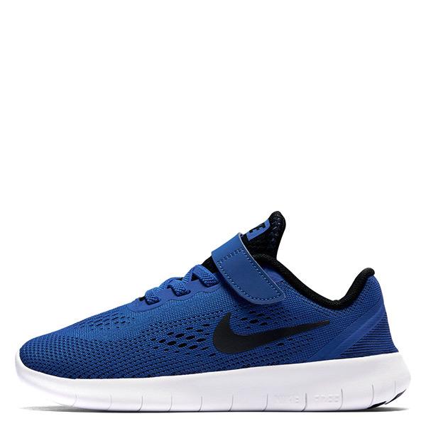 【EST S】Nike Free Rn Psv 833991-401魔鬼氈 運動休閒鞋 藍白黑勾 中童鞋 G1116