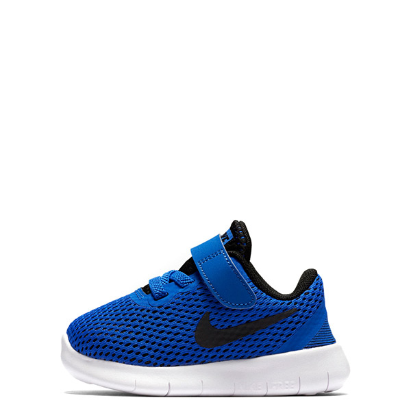 【EST S】Nike Free Rn Btv 透氣輕量運動鞋 藍白黑勾 小童鞋 G1116
