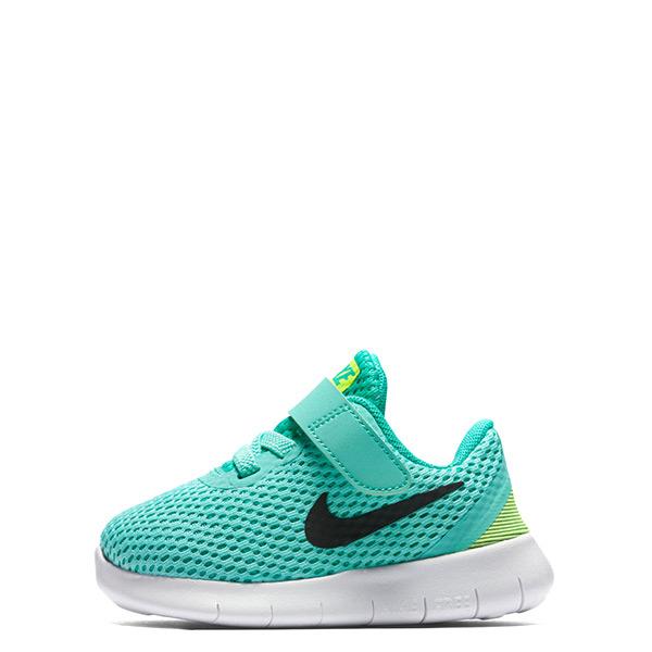 【EST S】Nike Free Rn 834042-300 魔鬼氈運動鞋 青綠黑白 小童鞋 G1116