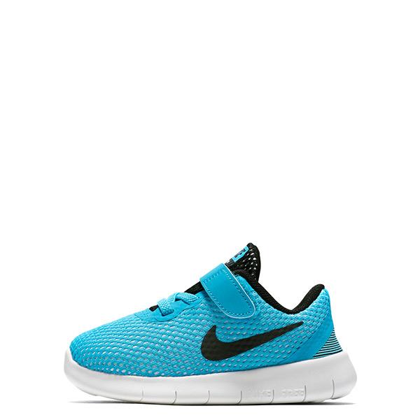 【EST S】Nike Free Rn 834042-400 運動鞋 藍黑白 小童鞋 G1116