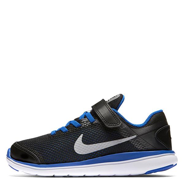 【EST S】Nike Flex 2016 Rn Run 834279-005 慢跑鞋 黑白藍 中童鞋 G1116