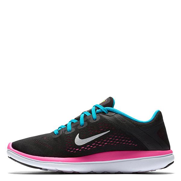 【EST S】Nike Flex 2016 Free 834281-001 赤足慢跑鞋 黑粉 大童鞋 G1116