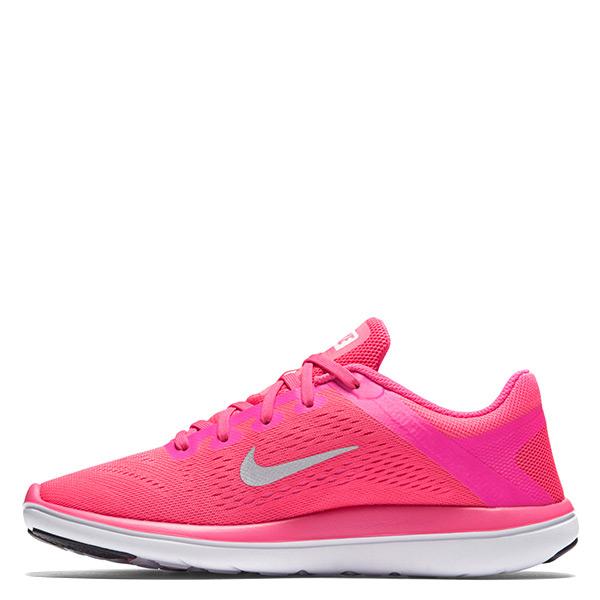 【EST S】Nike Flex 2016 Rn Run 834281-600 慢跑鞋 粉紅銀勾 大童鞋 G1116