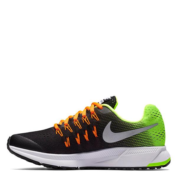 【EST S】Nike Zoom Pegasus 33 834316-004 慢跑鞋 黑橘螢光綠 大童鞋 G1116