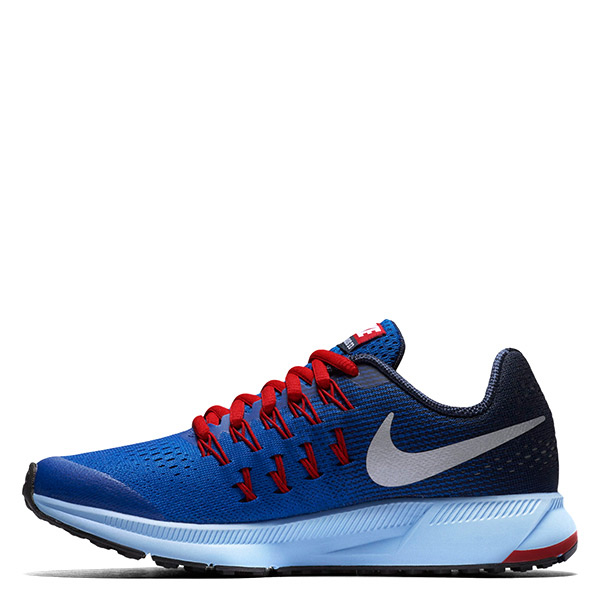 【EST S】Nike Air Zoom Pegasu 33 834316-402 慢跑鞋 黑橘 大童鞋 G1116