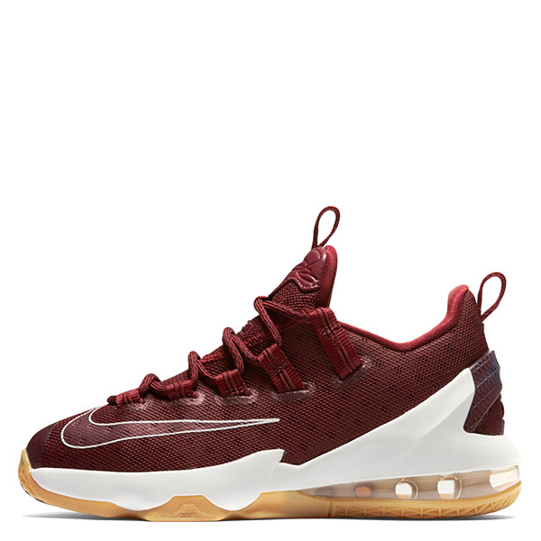 【EST S】Nike Lebron 13 Low 834347-600 藍球鞋 暗紅膠底 大童鞋 G1116