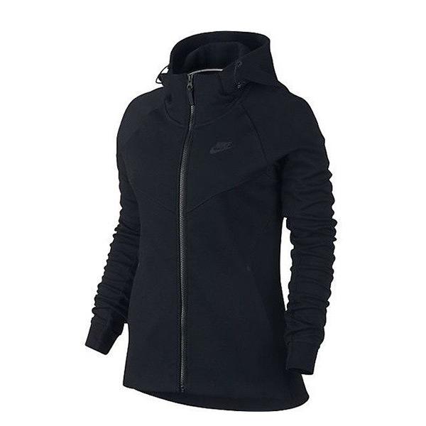 【EST S】Nike Tech Fleece 842846-010 刷毛 運動 外套 女款 黑 G1119