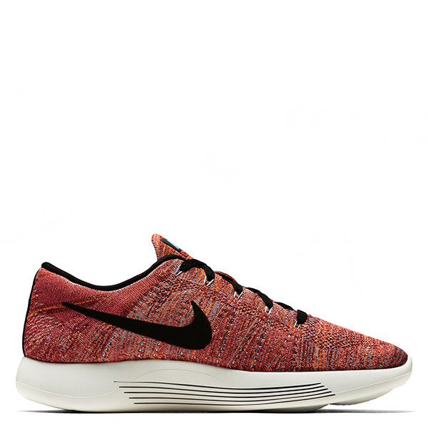 【EST S】Nike Lunarepic Low Flyknit 843764-800 編織慢跑鞋 橘紅白 男鞋 G1116