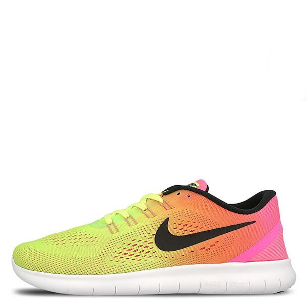 【EST S】Nike Free Rn Oc 844629-999 赤足慢跑鞋 黃彩虹漸層 男鞋 G1116