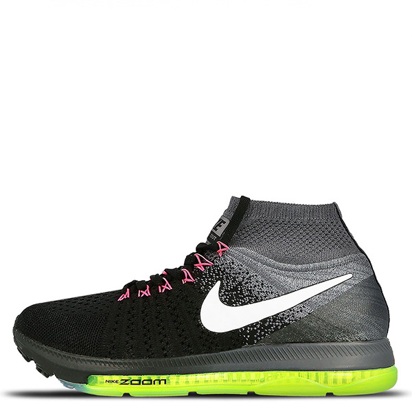 【EST S】Nike Air Zoom All Out Flyknit 845361-002 慢跑鞋 黑白 女鞋 G1116