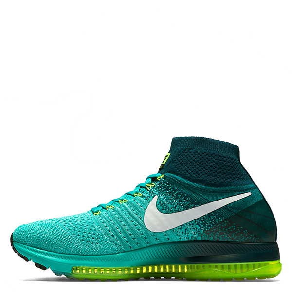 【EST S】Nike Air Zoom All Out Flyknit 845361-313 慢跑鞋 綠白 女鞋 G1116