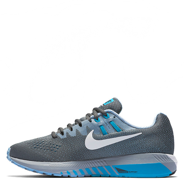 【EST S】Nike Air Zoom Structure 20 849576-001 慢跑鞋 藍灰 男鞋 G1116