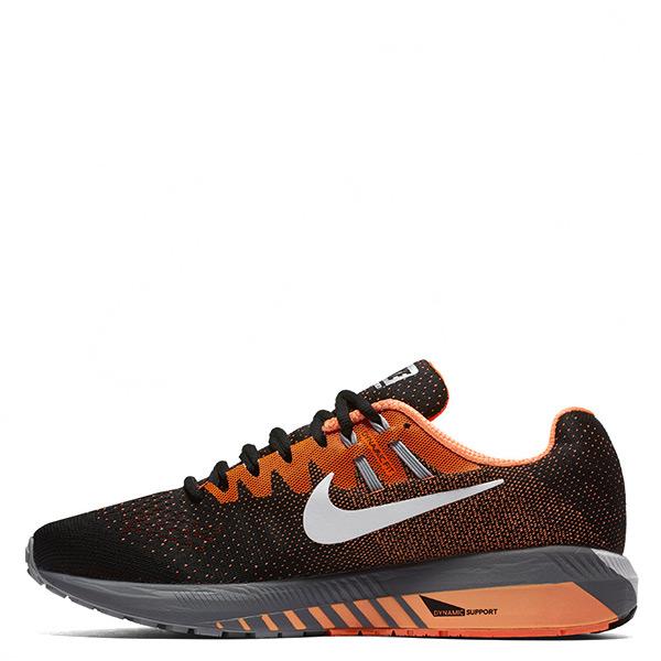 【EST S】Nike Air Zoom Structure 20 849576-002 慢跑鞋 黑橘 男鞋 G1116