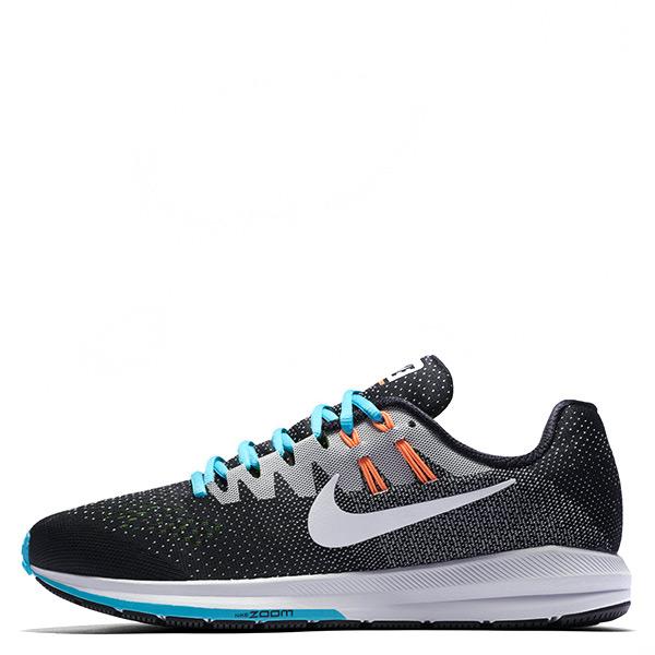【EST S】Nike Air Zoom Structure 20 849576-018 慢跑鞋 黑白藍橘 男鞋 G1116