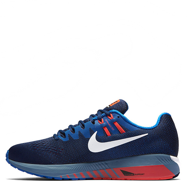 【EST S】Nike Air Zoom Structure 20 849576-400 慢跑鞋 藍 男鞋 G1116