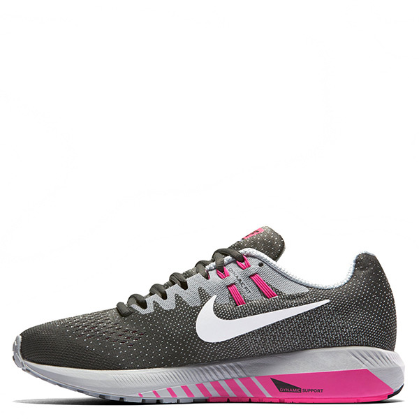 【EST S】Nike Air Zoom Structure 20 849577-006 慢跑鞋 灰紫紅 女鞋 G1116