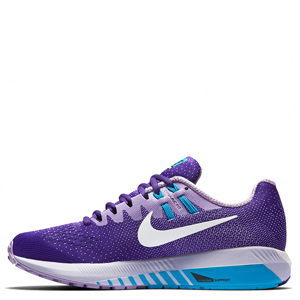 【EST S】Nike Air Zoom Structure 20 849577-502 慢跑鞋 紫白底 女鞋 G1116