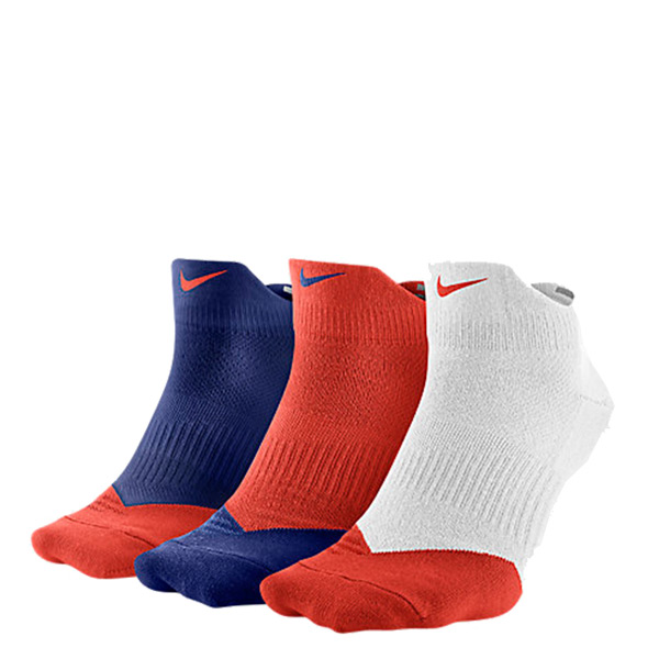 【EST S】Nike Dri-Fit SX4951-911 三入一組 藍橘白 棉質 襪子 H0106