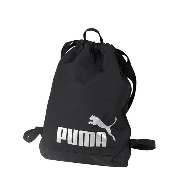 【EST S】Puma Active J Logo 073307-01 束口袋 後背包 黑 G1205