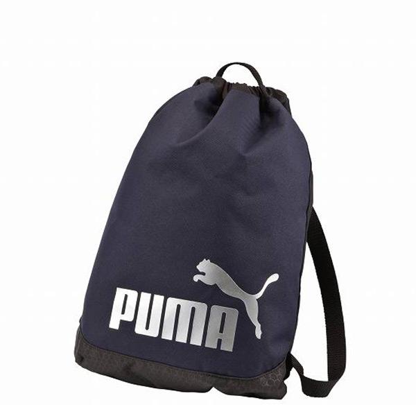 【EST S】Puma Active J Logo 073307-02 束口袋 後背包 深藍 G1205