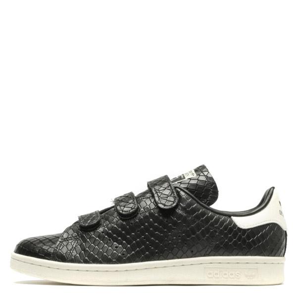 【EST S】Adidas Stan Smith Cf S32170 蛇紋 魔鬼氈休閒鞋 黑白 G1026