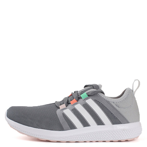 【EST S】Adidas Cc Fresh Bounce S74426 無車縫透氣慢跑鞋 灰白 G1026