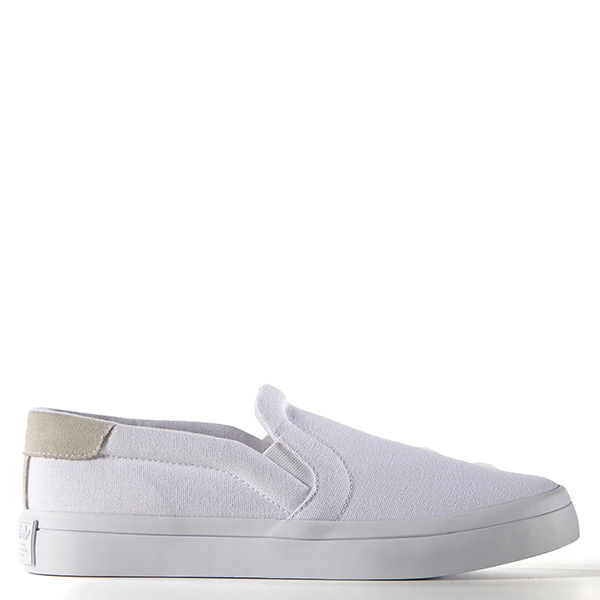 【EST S】Adidas Courtvantage Slip On S75172 帆布 懶人鞋 女鞋 白 G1018