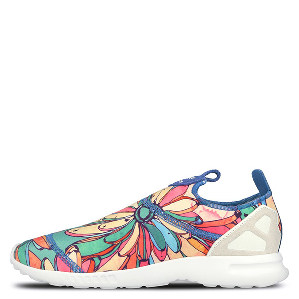 【EST S】Adidas Zx Flux Adv Smooth Slip On S75686 懶人鞋 花花 G1026