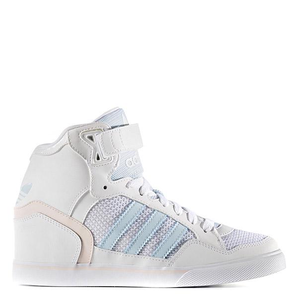 【EST S】Adidas Originals Extaball Up S75789 高筒 內增高 白粉藍 G1026