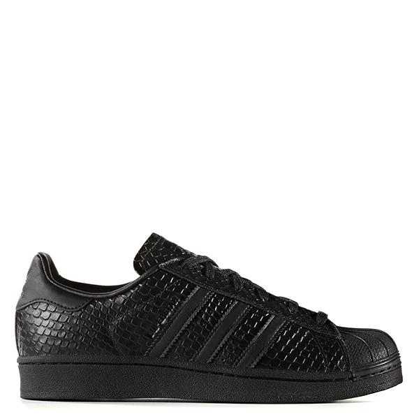 【EST S】Adidas Originals Superstar S76147 基本款 全黑 蛇紋 G1028